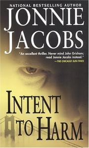 Cover of: Intent To Harm (Kali O'Brien Mysteries)