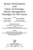 Cover of: Waste minimization and clean technology |