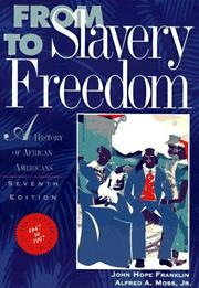 Cover of: From slavery to freedom by Franklin, John Hope