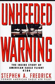 Cover of: Unheeded warning