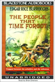 Cover of: The People That Time Forgot