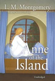 Cover of: Anne of the Island |