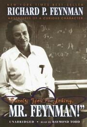 Cover of: Surely You're Joking, Mr. Feynman: Adventures of a Curious Character