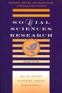 Cover of: Social sciences research | Gail M. Staines
