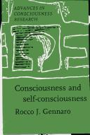 Consciousness and self-consciousness by Rocco J. Gennaro