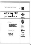 Cover of: AFRICON '92