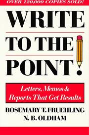 Cover of: Pbs Write to the Point