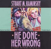 Cover of: He Done Her Wrong