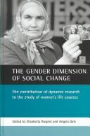 Cover of: The gender dimension of social change |