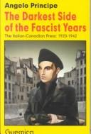 Cover of: The darkest side of the fascist years