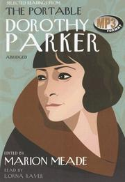 Cover of: Selected Readings from The Portable Dorothy Parker | Marion Meade