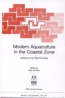 Cover of: Modern aquaculture in the coastal zone |