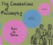 Cover of: Consolation of Philosophy