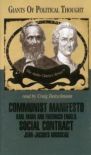 Cover of: Communist Manifesto and Social Contract (Giants of Political Thought) | Ralph Raico