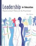 Cover of: Leadership in Education