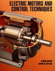 Cover of: Electric motors & control techniques
