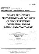 Cover of: Proceedings of the 2002 Fall Technical Conference of the ASME Internal Combustion Engine Division | American Society of Mechanical Engineers. Internal Combustion Engine Division. Technical Conference
