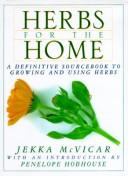 Cover of: Herbs for the Home