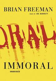 Cover of: Immoral | Brian Freeman