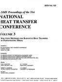 Cover of: Asme Proceedings of the 31st National Heat Transfer Conference (Asme Proceedings of the 31st National Heat Transfer Conferen) | American Society of Mechanical Engineers