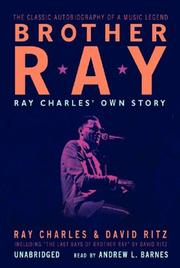 Cover of: Brother Ray: Ray Charles' Own Story
