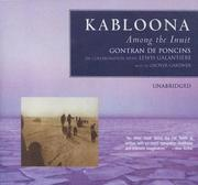 Cover of: Kabloona: Among the Inuit