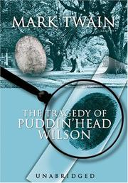 Cover of: The Tragedy Of Pudd'nhead Wilson by Mark Twain