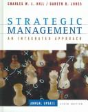 Cover of: 1 Strategic management: an integrated approach