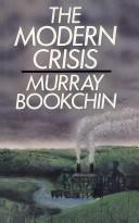 Cover of: The modern crisis