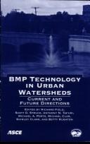 Cover of: BMP technology in urban watersheds |