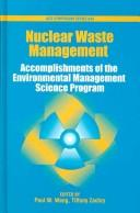 Cover of: Nuclear waste management |