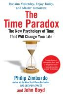 Cover of: The time paradox