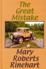Cover of: The great mistake