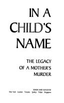 Cover of: In a child's name