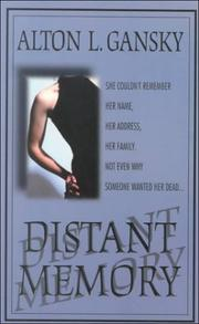 Cover of: Distant memory