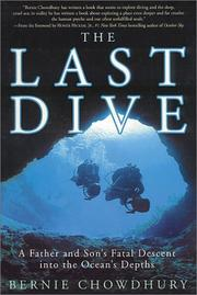 Cover of: last dive | Bernie Chowdhury