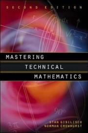 Cover of: Mastering technical mathematics | Stan Gibilisco