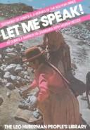 Cover of: Let me speak] by
