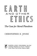 Cover of: Earth and other ethics