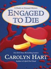 Cover of: Engaged to die: a death on demand mystery