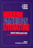 Cover of: Modern American literature | Paul Schlueter