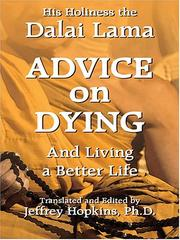 Cover of: Advice on Dying: And Living a Better Life