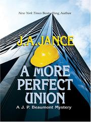 Cover of: A More Perfect Union | J. A. Jance