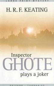 Cover of: Inspector Ghote plays a joker