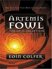 Cover of: Artemis Fowl: The Opal Deception