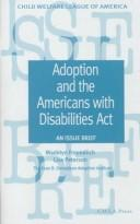 Cover of: Adoption and the Americans with Disabilities Act