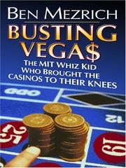 Cover of: Busting Vega$: The Mit Whiz Kid Who Brought the Casinos to Their Knees