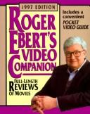 Cover of: Roger Ebert's Video Companion 1997 (Roger Ebert's Movie Yearbook)