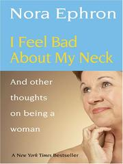 Cover of: I Feel Bad About My Neck