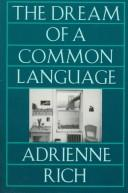 Cover of: The dream of a common language